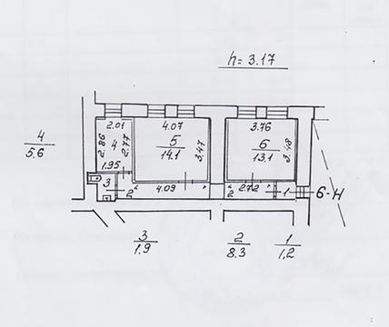 Продажа помещения 44.2 кв.м. на пр. Кронверкском, 23 - Фото 2
