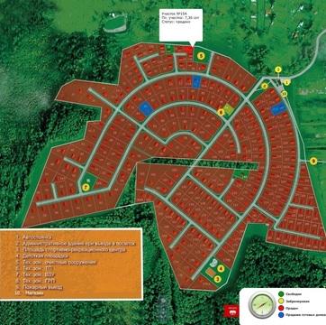 Земельный участок 7,5 соток в кп Тимашево. Магистр. газ, вода, кан-ция - Фото 1