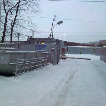 Сдаем метал.гараж на охраняемой парковке ул.Люблинская, д.6 - Фото 4