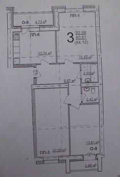 3к Квартира в новом кирпичном доме