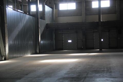 Теплое складское помещение 2250 м2 класса А - Фото 2
