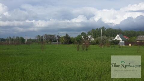 Участок 12 соток под прописку в селе Ивановское Ступинского района - Фото 4