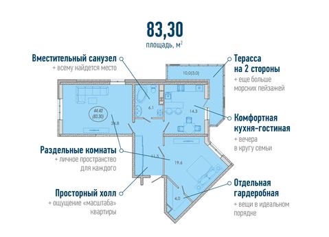 """К продаже предлагается 2-ая квартира в ЖК""""Резиденция"""". - Фото 2"""