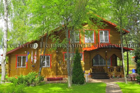 Глашино. Жилой дом с банно-бассейным комплексом, гостевым домом в лесу - Фото 1