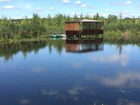 Дом 450 м на уч-ке 30 с, со своим выходом на озеро - Фото 3