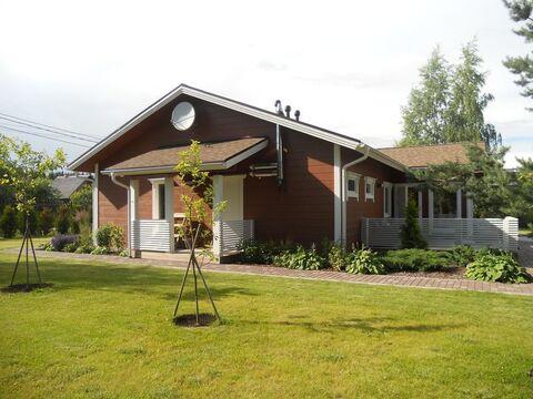 Вырица: финский дом из клееного бруса 163 кв.м на уч. 24 сот. для ИЖС - Фото 2