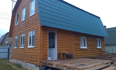 Продается дом 108м2 на участке 7 сот, Москва, Калужское ш, 55 км - Фото 1