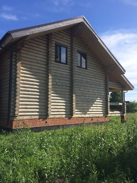 Продам недостроенный дом 2 этажа на участке 17 сот. в Богандинке - Фото 1