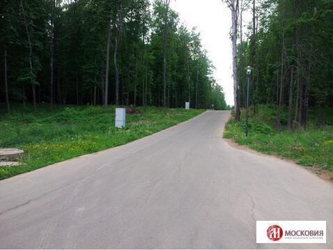 Лесной участок 15 соток, в поселке бизнес-класса, г. Москва. - Фото 2