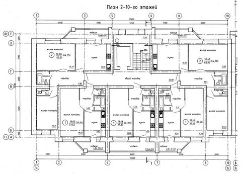 Продажа 1-комнатной квартиры, 42.42 м2, Гороховская, д. 81 - Фото 3
