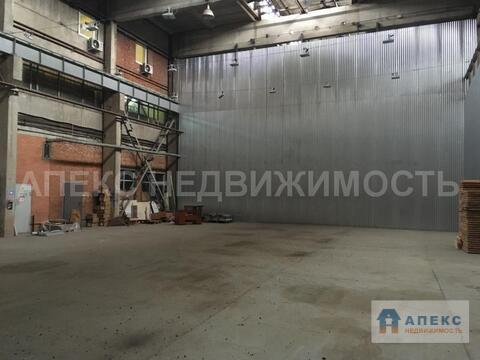 Аренда помещения пл. 1180 м2 под склад, производство, м. Пражская в . - Фото 1