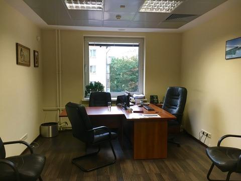 Офисное помещение 811 кв.м. около м.Краснопресненская в БЦ класса А - Фото 3