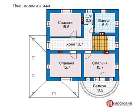 Дом 161 м2 на участке 12 соток 25 км от МКАД Калужское/Варшавское ш. - Фото 4