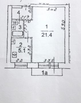 Однокомнатная квартира рядом с м. вднх с мебелью и техникой - Фото 2
