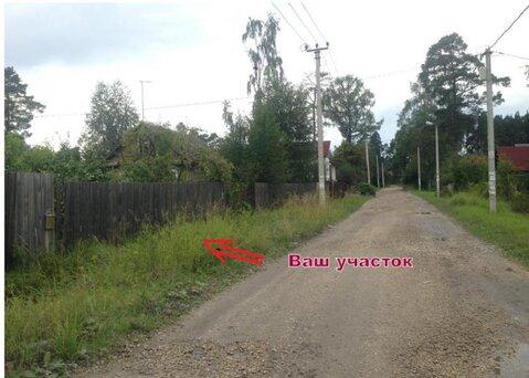 15 соток Ленинградская область, Гатчинский район, п. Вырица, ул. . - Фото 1