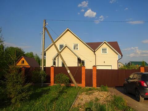 2 эт. дом 250 кв.м, в д. Петровское Серпуховского района - Фото 2