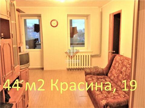 Комната (малосемейка) 43,2 м2 по ул. Красина, 19 - Фото 1