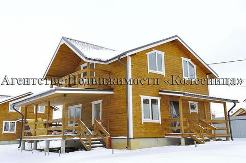 Боровки. Новый дом для круглогодичного проживания в жилом поселке. - Фото 1