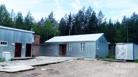 Производственная база. Плесецк, Архангельская обл, ул. Зеленая. - Фото 2