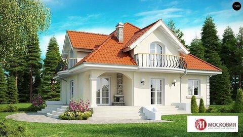 Отличный проект дома площадью 187м2 на 20 сотках земли в Новой Москве - Фото 1