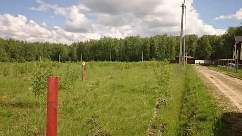 Участок с газом в окружении леса, Ненашево улыбка3 - Фото 5