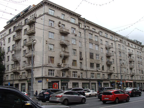 3-х комнатная квартира в сталинском доме в Центре Москвы - Фото 1