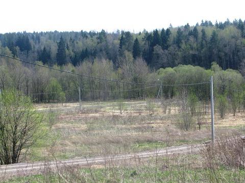 Участок 12,9 соток с панорамным видом на лес. - Фото 2