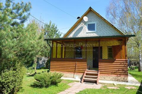 Кирпичный дом в жилой деревне на участке 15 соток. Боровск. - Фото 4