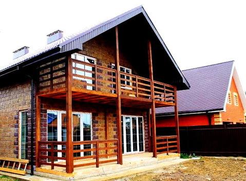 Красивый жилой дом 170 квм, заезжай и живи. ИЖС. 6 соток. 14 км МКАД. - Фото 1