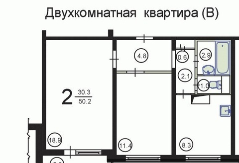 Продаю 2-х комн. кв-ра г. Москва, Коровинское ш 36к1 - Фото 2