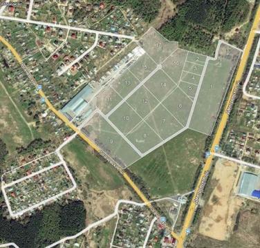 Промыщленная земля 1,8 Га на Дмитровском шоссе 10 км. от МКАД - Фото 2