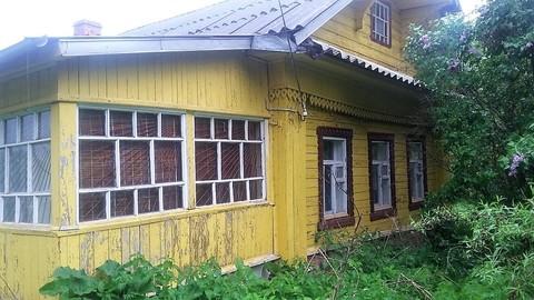 Продается хороший дом 9х10 с русской баней на 1 линии р. Малая Пудица - Фото 1