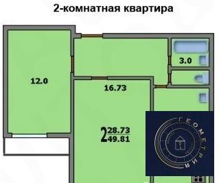 2к Домодедовская, Генерала Белова, 53к1 (ном. объекта: 27254) - Фото 5