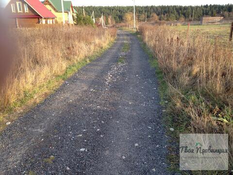 Участок 12 соток с лесными видами в деревне Протасово Ступинского р-на - Фото 1