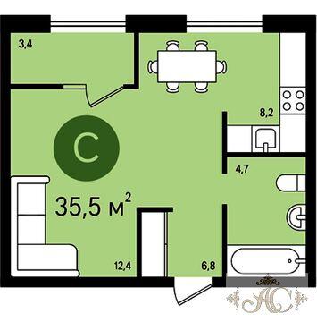 Продаю 1 комнатную квартиру, Видное, ул Ермолинская, 3 - Фото 1