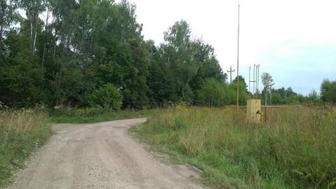 Участок ИЖС 26 соток, электричка, асфальтированный подъезд к деревне - Фото 3