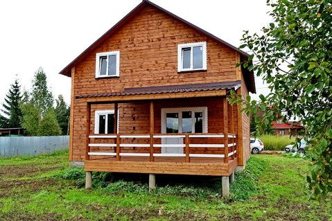 Продается новый дом в деревне, жилая улица, рядом река, лес, родник. - Фото 5