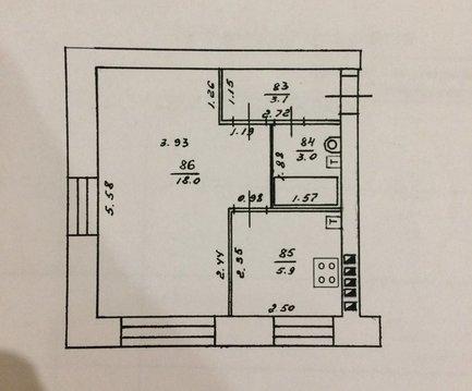 Продажа 1-комнатной квартиры, 30 м2, г Киров, Гайдара, д. 4 - Фото 1