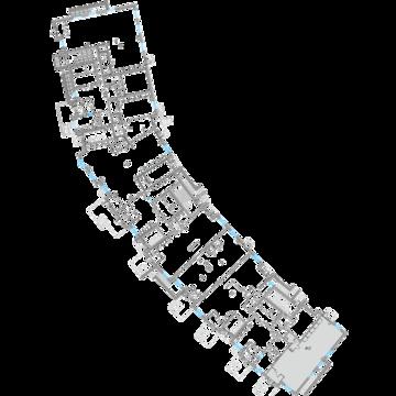 Трехстороннее фасадное коммерческое помещение 99.54 м2 - Фото 3