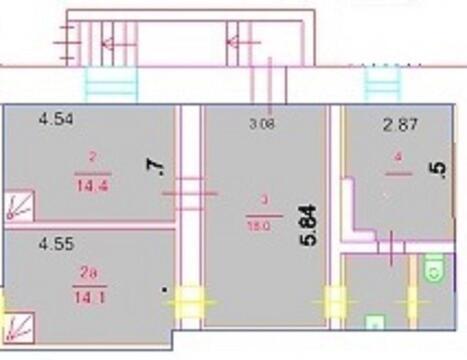 Аренда помещения свободного назначения 65 кв.м. м.Автозаводская 200мет - Фото 4