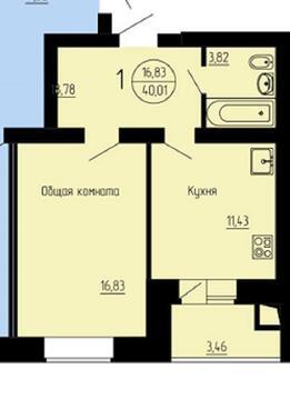 Меняю 1к.кв квартиру новую на 1к.кв новостройку с моей доплатой - Фото 3