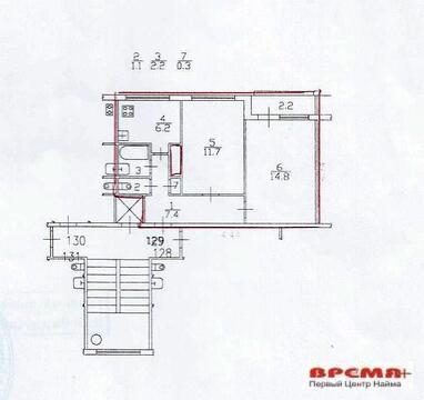 2 ккв. Луначарского д. 70 к.2 - Фото 1