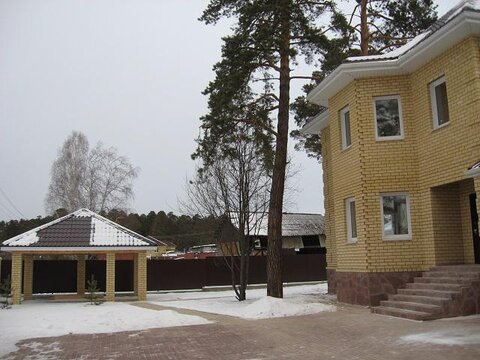 Отличный коттедж, с соснами на участке, п. Исток, черта Екатеринбурга - Фото 3