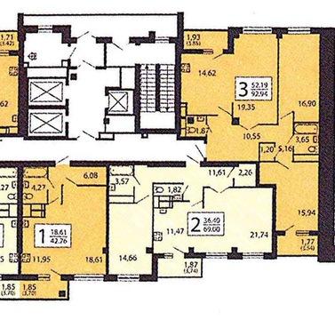 Продам блок квартир 1+2+3, площадью 205 кв.м. - Фото 1