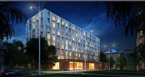 1-комн. апартамент 52 кв.м. в доме премиум-класса в ЦАО г. Москвы - Фото 2