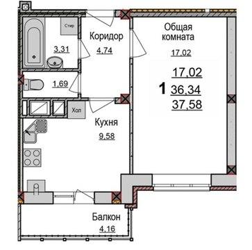 Продаются 1-к квартиры от подрядчика в новостройке - Фото 2