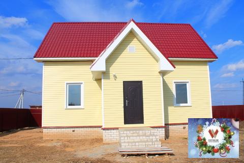 Благоустроенный дом в жилой деревне рядом с с.Филипповское на 12 сотка - Фото 3