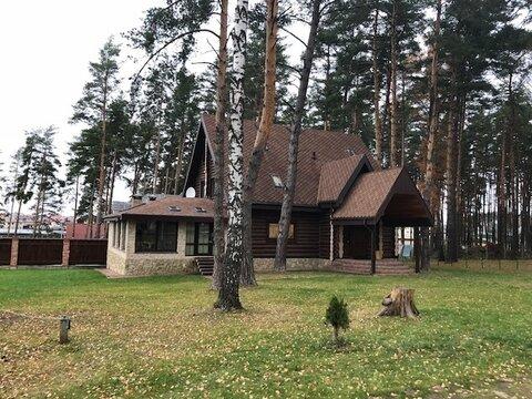 Дом 300 кв.м, сосновый бор, д. Репниково Чеховский р-н - Фото 2