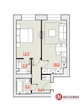 Продается 2 ком. квартира 44 кв.м. с ремонтом, САО Москвы - Фото 3