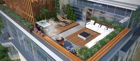 Двухуровневая квартира с террасой - Фото 1
